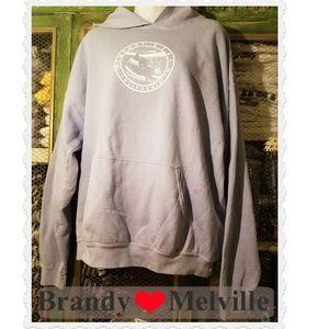 Brandy Melville Tops - brandy melville   newport beach hoodie  john galt